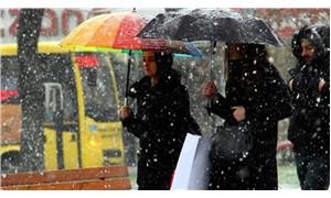 Meteoroloji uyardı: Marmara'da karla karışık yağmur bekleniyor