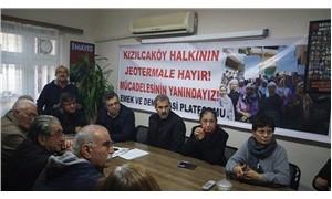 Aydın Emek ve Demokrasi Platformu'ndan Kızılcaköy halkına destek