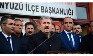 Destici: Sarı yeleklilerin en ön saflarında PKK unsurlarını görüyoruz