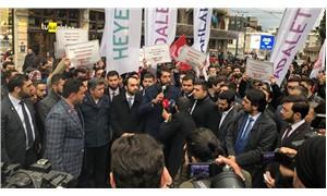 Saadet Partisi'nin İstiklâl'deki yürüyüşüne polis engeli