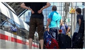 Almanya'da demiryolu çalışanları uyarı grevi yaptı