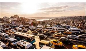 Avrupa'nın en yoğun dördüncü trafiği: İstanbul