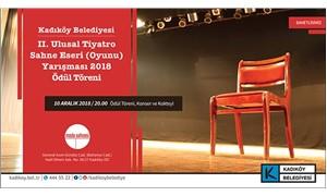 Kadıköy Ulusal Tiyatro Ödülleri sahiplerini bulacak