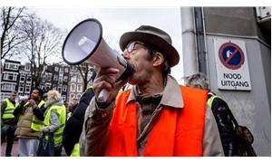 Hollanda'da 'kırmızı yelekliler' sokağa çıkıyor