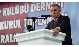 PFDK'den Trabzonspor Başkanı Ağaoğlu'na 60 gün ceza