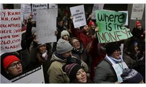 Şirket düzenbazları için değil okullar için para