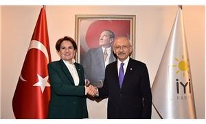 İYİ Parti heyeti CHP Genel Merkezi'nde
