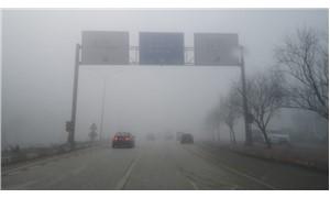 İnegöl'de yoğun sis hayatı olumsuz etkiledi