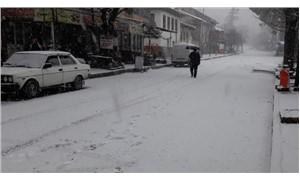 İzmir'de kar sürprizi