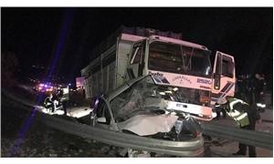 Mersin'de trafik kazası: 1 polis memuru yaşamını yitirdi.