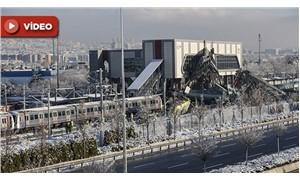 Ankara'daki tren faciasının görüntüleri ortaya çıktı