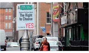 İrlanda'da kürtaja izin veren yasa tasarısı parlamentodan geçti