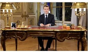 Macron'dan sarı yeleklilere çağrı