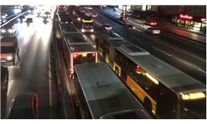Sefaköy'de metrobüs arızalanmıştı: Seferler normale döndü