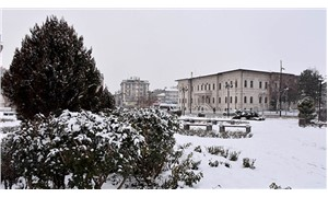 Sivas'ta 144 köy yolu kardan kapandı