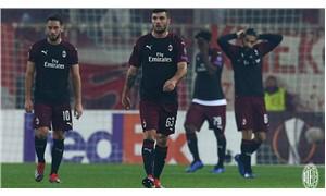 UEFA'dan Milan'a para cezası ve ihtar
