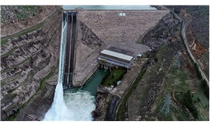Dicle'de baraj kapağı koptu