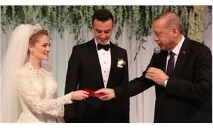 Erdoğan, Zeybekci'nin oğlunun nikâh şahidi oldu