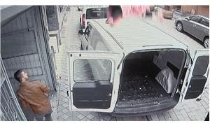 Zeytinburnu'nda mucize kurtuluş kamerada