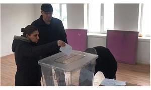 Köyün başka ilçeye bağlanması için referandum yapıldı