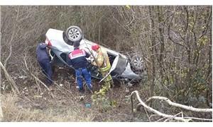 Çöp kamyonu ile otomobil çarpıştı: 1 ölü