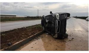 Karataş Belediye Başkanı trafik kazası geçirdi