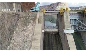 Dicle Barajı'nda kopan kapağın montajı için çalışmalara başlandı