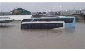 Arnavutköy'de su baskını
