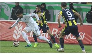Fenerbahçe, kupada güldü
