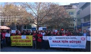 KESK ve DİSK, İzmir'de sokağa çıktı: Halk için bütçe istiyoruz