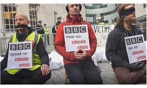 Çevrecilerden BBC'ye protesto: İklim değişikliğine daha fazla yer verilsin