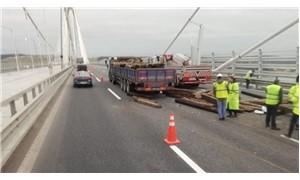 Yavuz Sultan Selim Köprüsü'nde kaza: 1 ölü, 2 yaralı