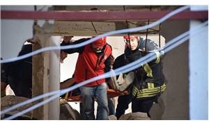 Bodrum'da tadilat yapılan binada çökme: 5 işçi yaralı