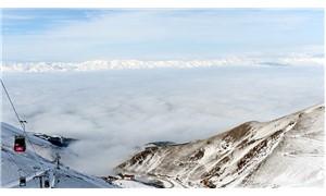 Erzurum'da yoğun sis