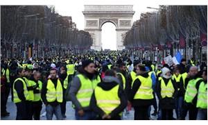 Fransa'daki 'Sarı Yelekliler' eyleminde ölü sayısı 10'a yükseldi