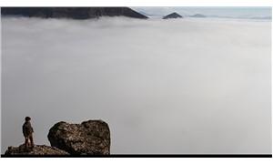 Hakkari'de sis bulutu