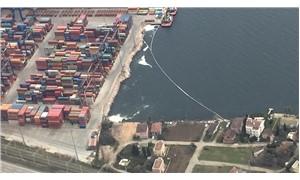 İzmit Körfezi'ni kirleten gemiye 400 bin TL ceza