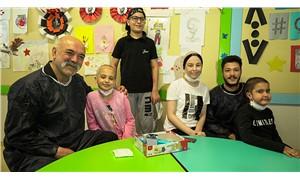 Çukur oyuncuları kanser tedavisi gören çocuklarla buluştu