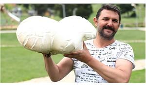Denizli'de 7 kiloluk mantar bulundu