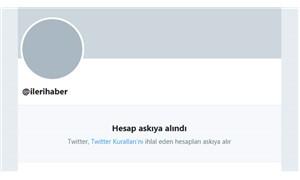 Gerici Nurettin Yıldız, İleri Haber'in Twitter hesabını askıya aldırdı
