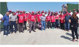 Aliağa Belediyesi işçileri kontak kapattı