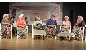 Kızılcaköy'de direniş tiyatro ile güzelleşti