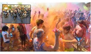 Motosiklet Festivali'nde boyalar konuştu