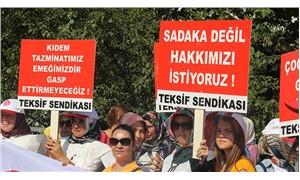 Slam Tekstil işçisi haklarını istiyor