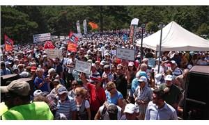 Binlerce insan Kaz Dağları için bir araya geldi: Su ve Vicdan Nöbeti