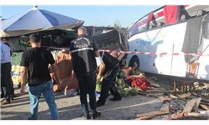 İstanbul Havalimanı otobüsü kaza yaptı: 1 ölü, 8 yaralı