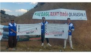 Kaz Dağları'nda sadece ağaç katliamı yapılmadı hayvanlar da katledildi!