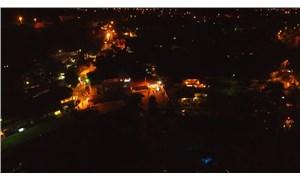 Bodrum'da ışık kirliliği için 8 dakika karanlık