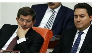 Ali Babacan ve Ahmet Davutoğlu'nun partileri için anket