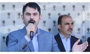 Bakan Kurum'dan Davutoğlu'na gönderme